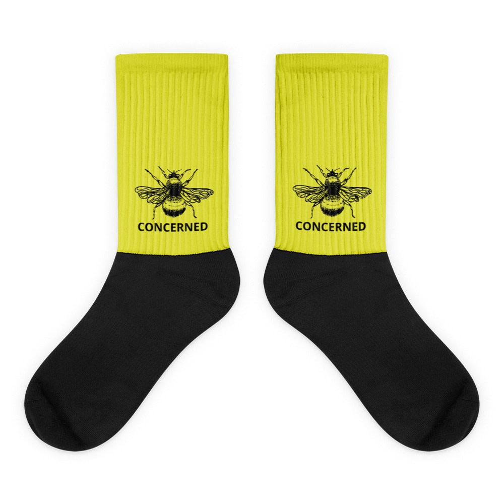 Concerned Bee Socks