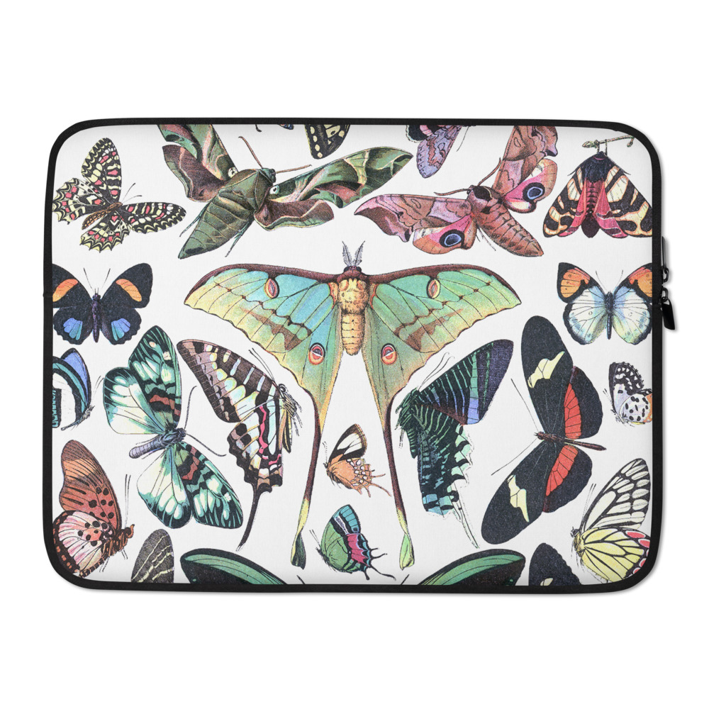 Papillon Chart Laptop Sleeve