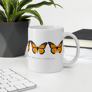 Champion of Monarch Butterflies Mug