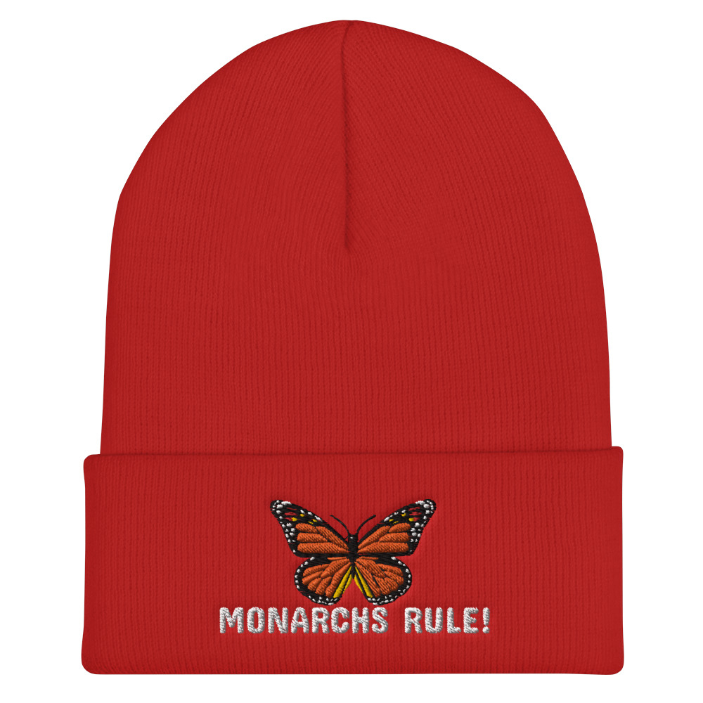 Monarchs Rule! Knit Beanie