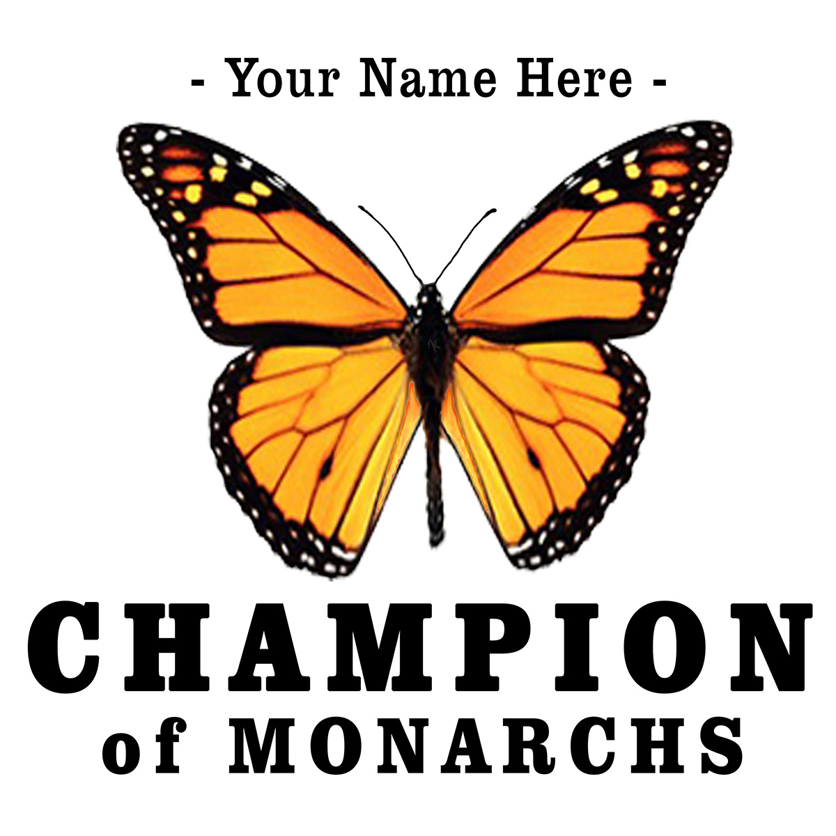 Champion of Monarchs Shirt
