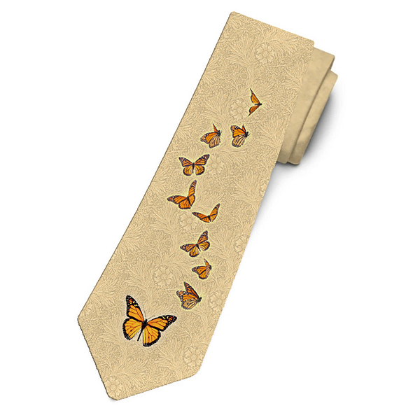 Monarch Migration Necktie
