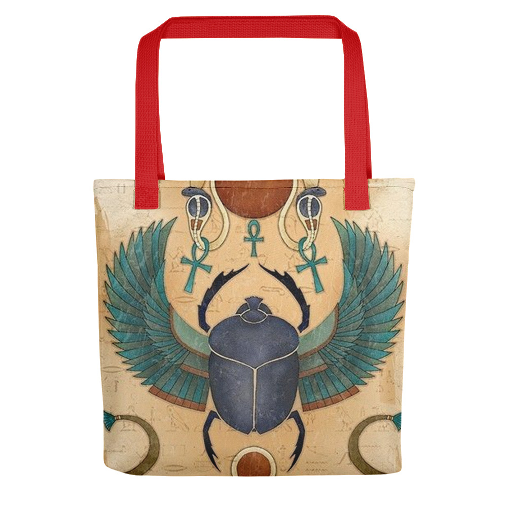 Ancient Scarab Beetle Tote bag